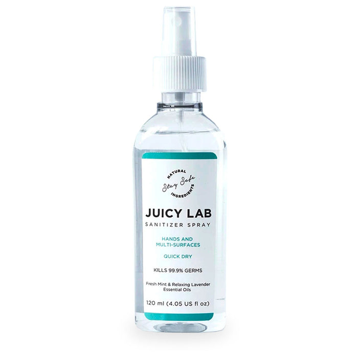 Juicy Lab, Sanitizer Spray, 120 ml