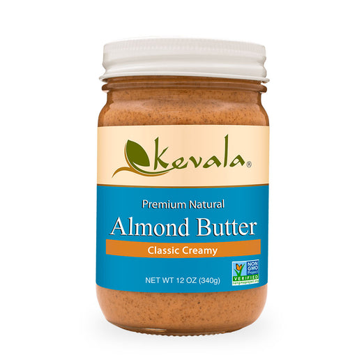 Kevala, Almond Butter, Classic Creamy, 340 g