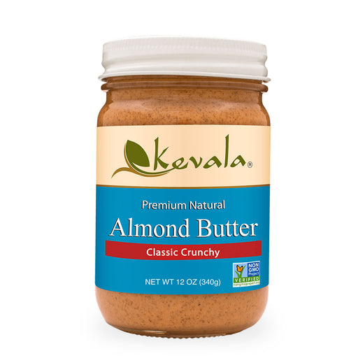 Kevala, Almond Butter, Classic Crunchy, 340 g