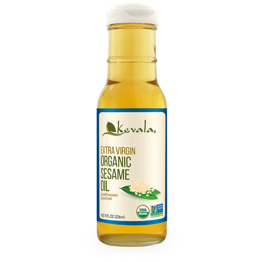 Kevala, Extra Virgin Organic Sesame Oil, 236 ml