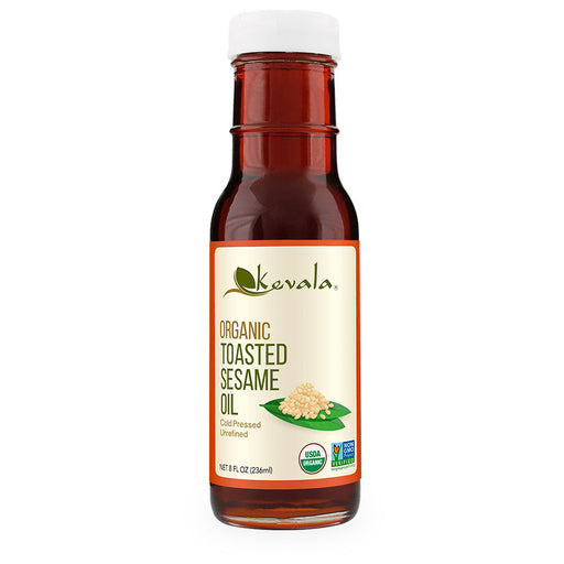 Kevala, Organic Toasted Sesame Oil, 236 ml