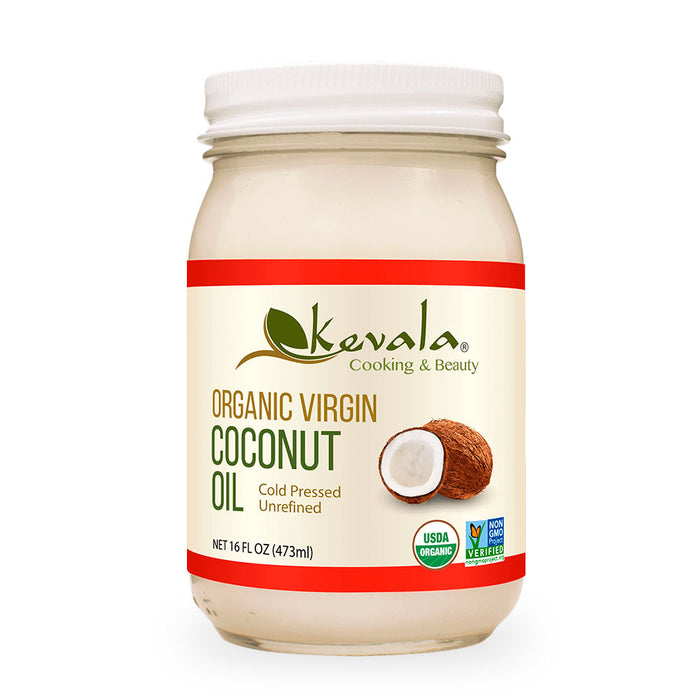 Kevala, Organic Virgin Coconut Oil, 473 ml