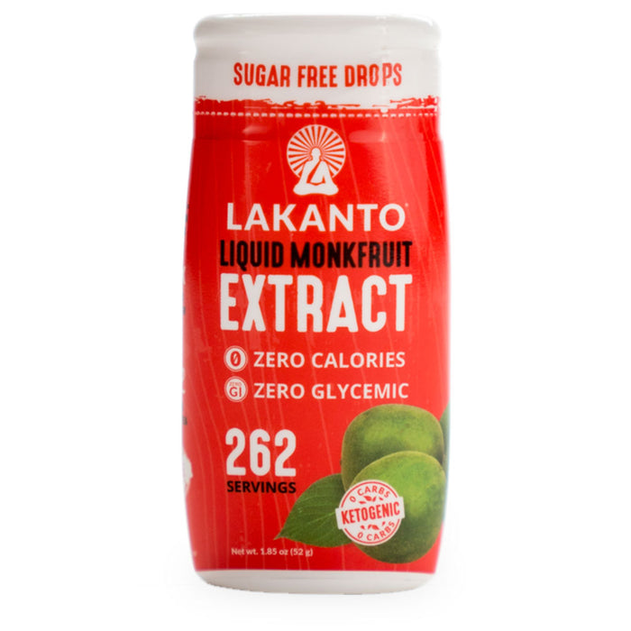 Lakanto, Monkfruit Extract Drops, 52 ml