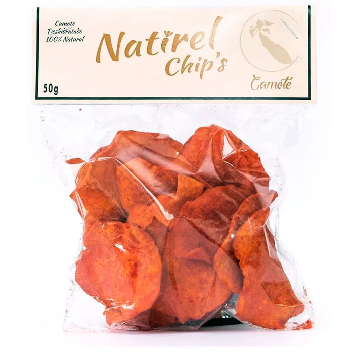 Natirel Chips, Camote Enchilado, 50 g