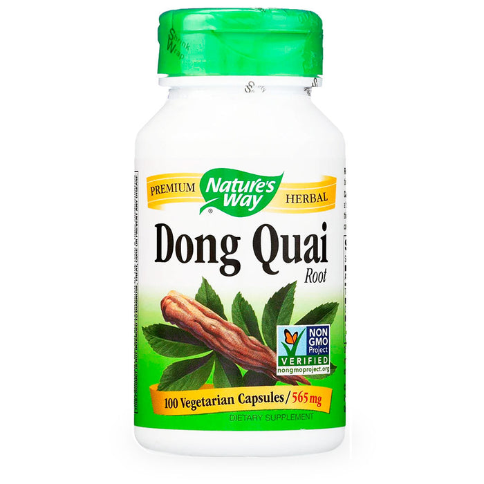 Natures Way, Dong Quai Root, 100 caps
