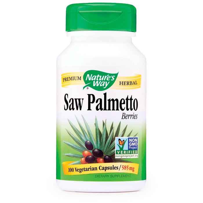 Natures Way, Saw Palmetto Berries, 100 caps