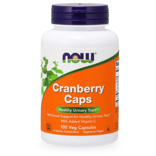 Now, Cranberry Caps, 100 caps