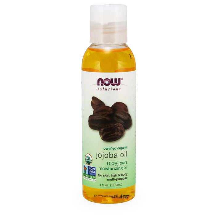 Now, Jojoba Oil, Organic, 118 ml