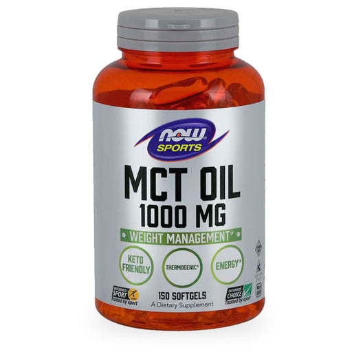 Now, MCT Oil, 1000mg, 150 caps