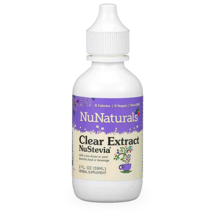 NuNaturals, NuStevia, Clear Extract, 59 ml
