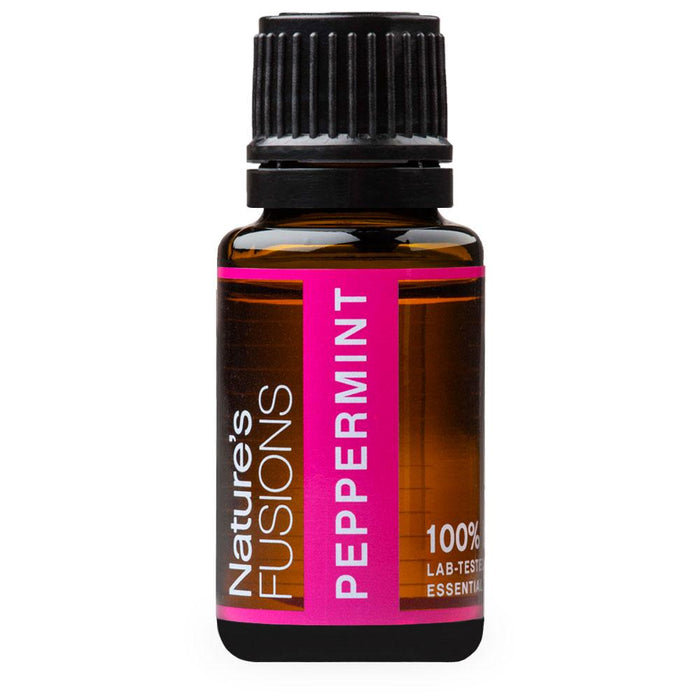 Natures Fusions, Peppermint, 15 ml
