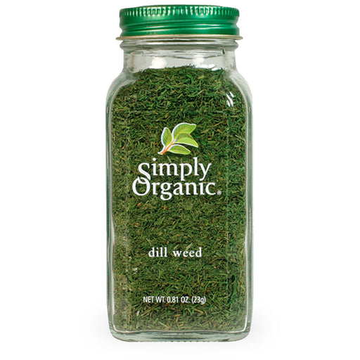 Simply Organic, Dill Weed, 23g