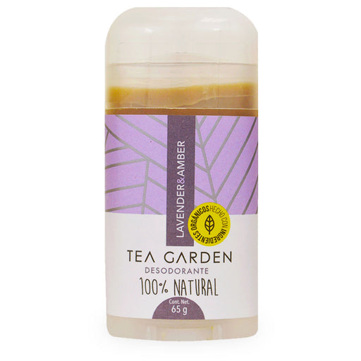 Tea Garden, Desodorante, Lavender and Amber, 65 g