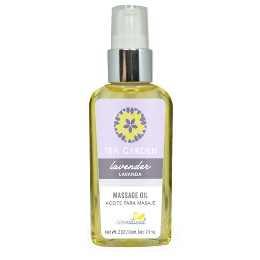 Tea Garden, Massage Oil, Lavender, 70 ml
