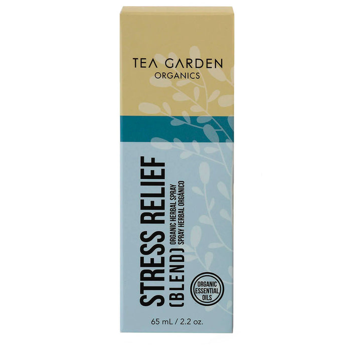 Tea Garden, Organic Herbal Spray, Stress Relief, 65 ml