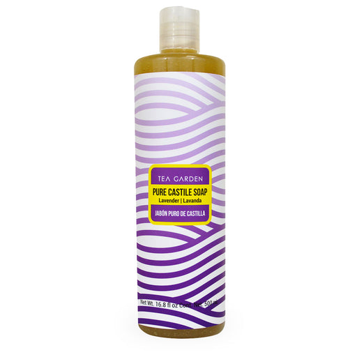 Tea Garden, Pure Castile Soap, Lavanda, 500 ml