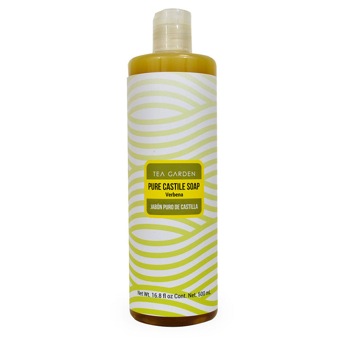 Tea Garden, Pure Castile Soap, Verbena, 500 ml