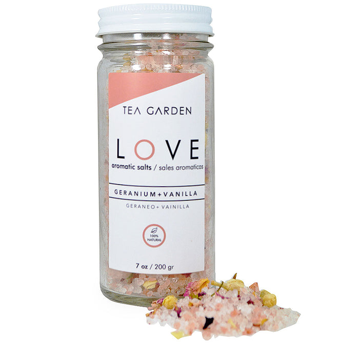 Tea Garden, Sales Aromaticas, Love, 220 gr