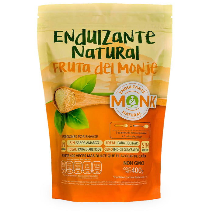 The Functional Foods, Endulzante Natural Fruta del Monje, 400 g