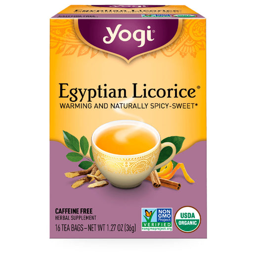 Yogi, Egyptian Licorice, 16 pzas