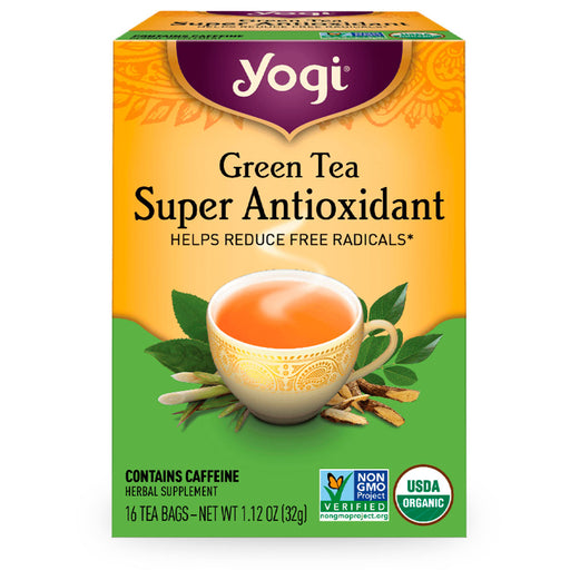 Yogi, Green Tea Super Antioxidant, 16 pzas