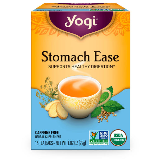 Yogi, Stomach Ease, 16 pzas