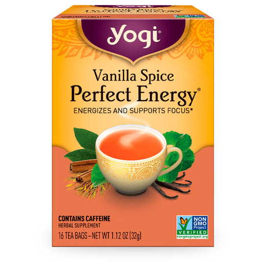 Yogi, Vanilla Spice Perfect Energy, 16 pzas