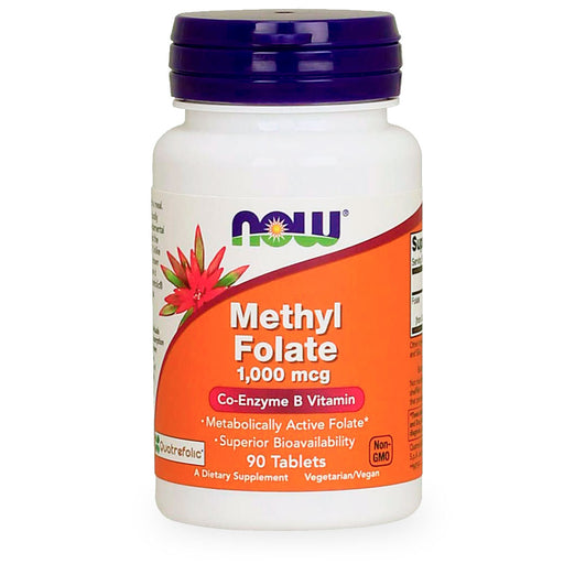 Now, Methyl Folate, 90 tabs