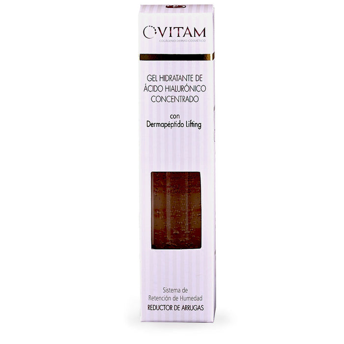 Vitam, Gel Hidratante de Acido Hialuronico Concentrado, 30 ml