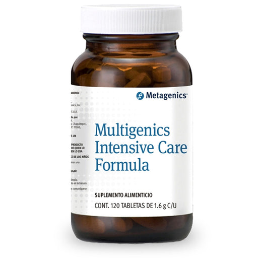 Metagenics, Multigenics Intensive Care Formula, 120 tabs