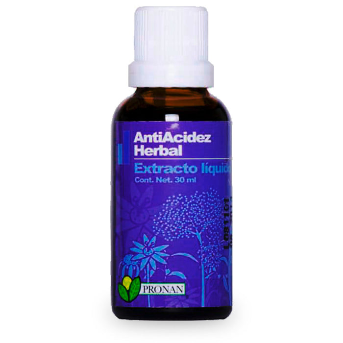 Paudha, AntiAcidez Herbal, 30 ml