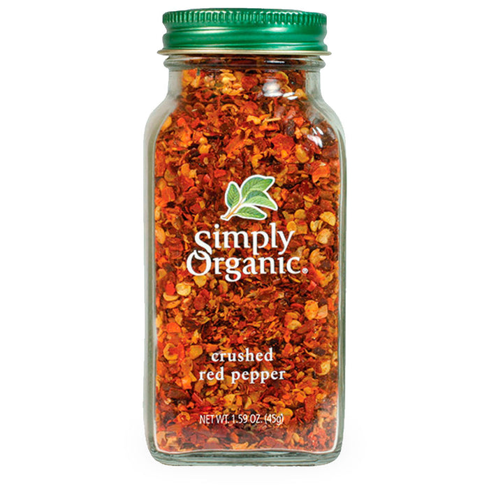 Simply Organic, Crushed Red Pepper, 45 g