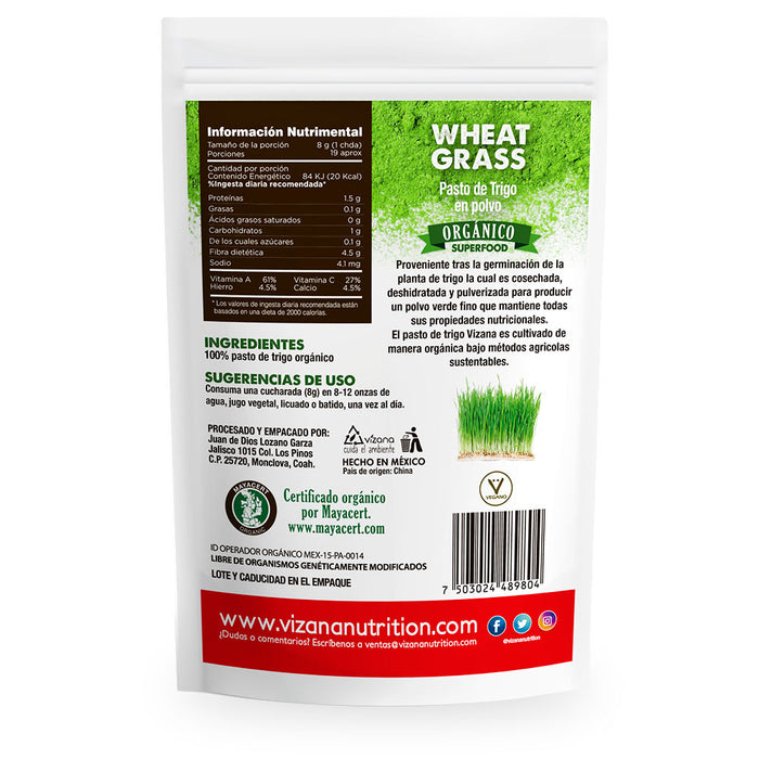 Vizana, Wheatgrass, 150 g