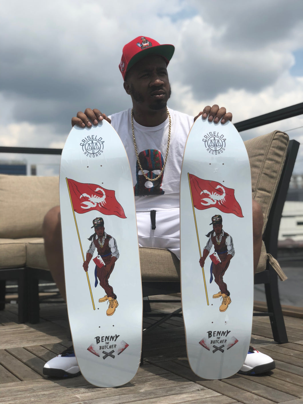 EXCLUSIVE BENNY THE BUTCHER DECKS!