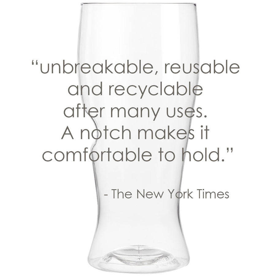 govino shatterproof, reusable 16-oz beer glasses that go anywhere you do. Proudly made in the USA.