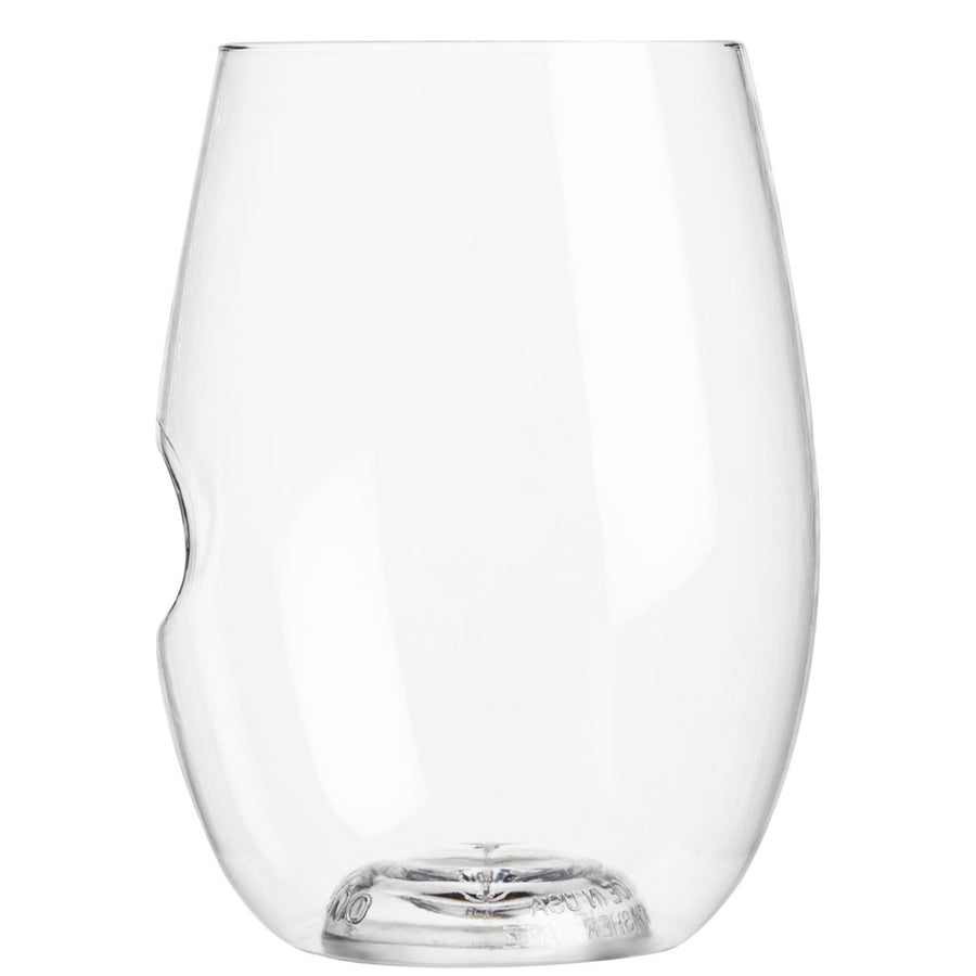 govino 16-oz go anywhere Red Wine Glass - Shatterpoof, Reusable & Recyclable