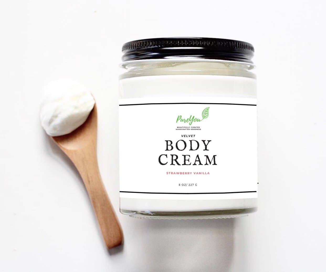 Strawberry Vanilla Velvet Body Cream