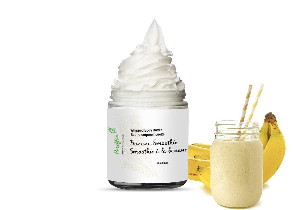 Banana Smoothie Whipped Body Butter - PureYou Handmade