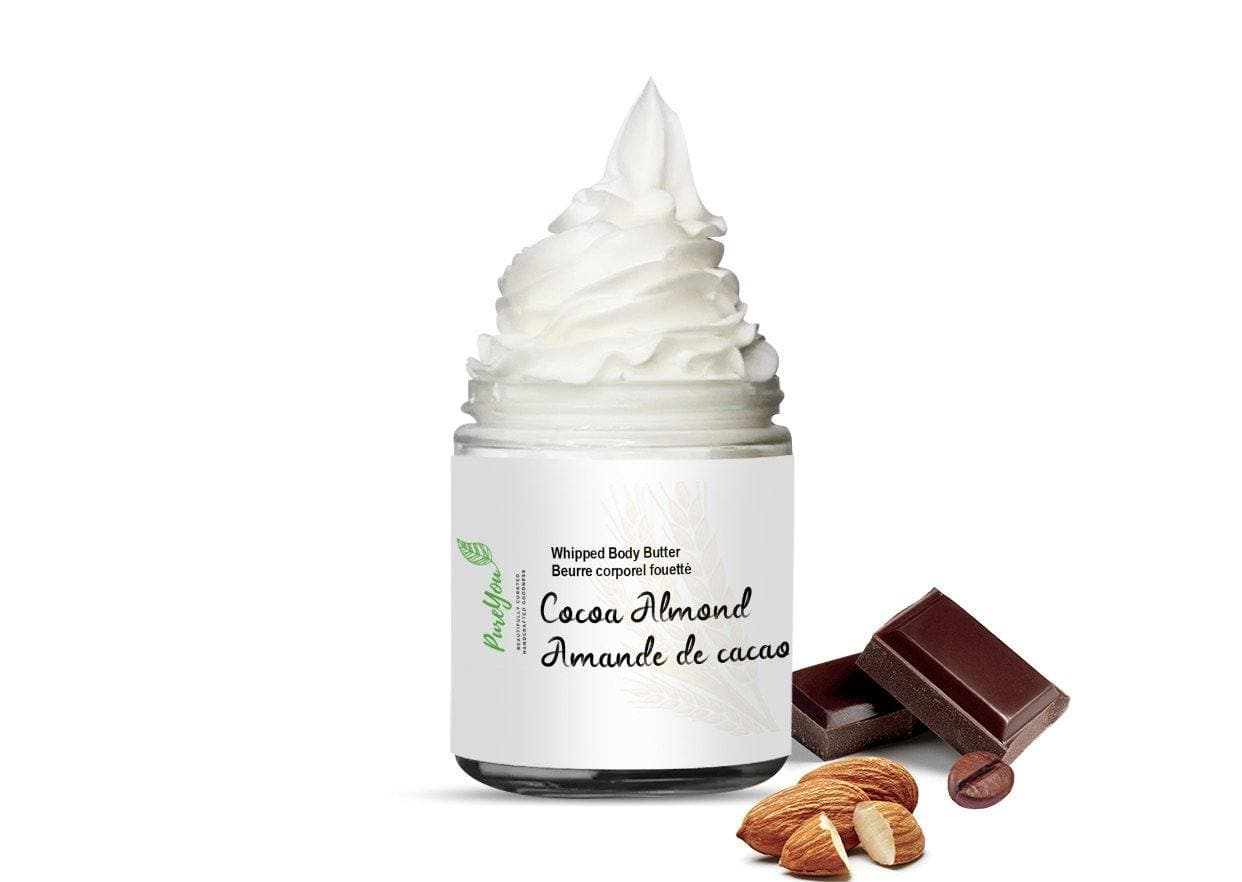 Cocoa Almond Whipped Body Butter - PureYou Handmade