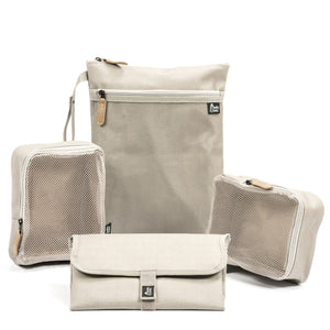 Diaper Backpack Set, Coated Canvas