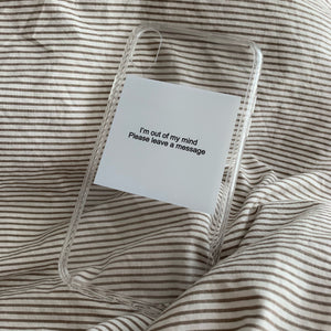 """Leave A Message"" iPhone Case - Dreamer Store"