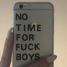 """No Time For F*ckboys"" iPhone Case - Dreamer Store"