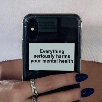 Mental Health iPhone Case