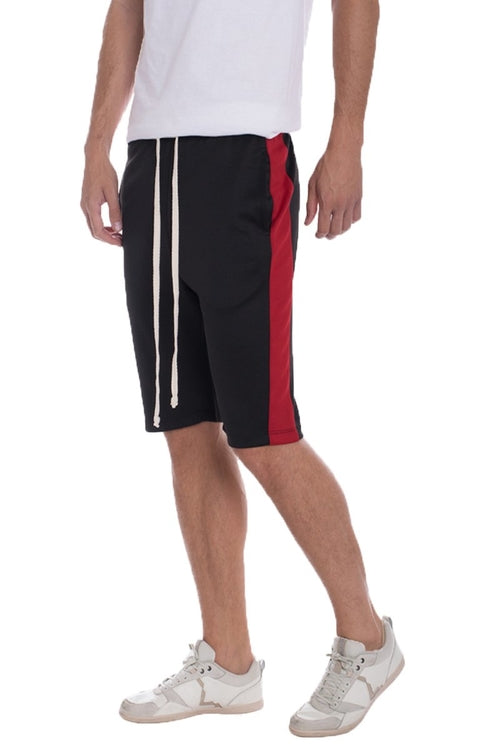 Track shorts - BLACK/RED