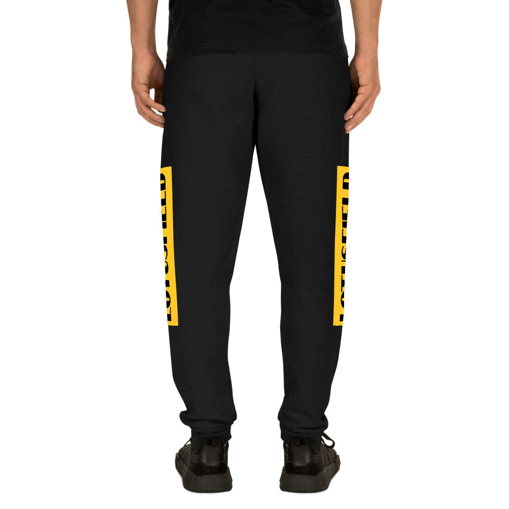 Unisex Legendery Alt Yellow Joggers