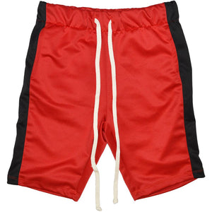 Track Shorts - RED/BLACK