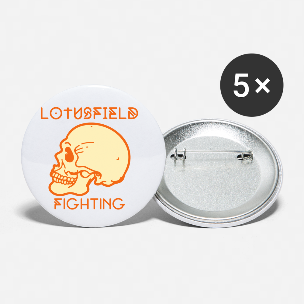 Lotusfield Fighting Button (Fall) - white