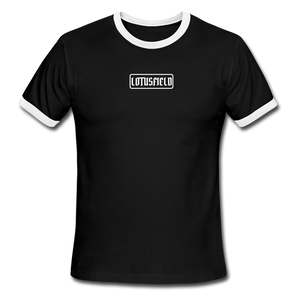 Ringer Tee - black/white
