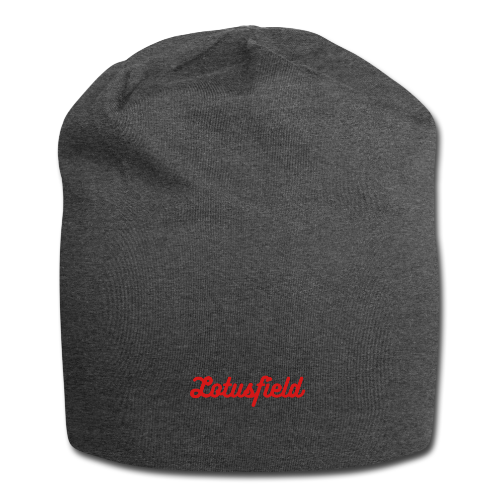 Simple Beanie (dark grey) - charcoal gray