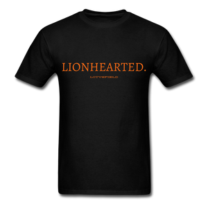 Lionhearted Tee - black